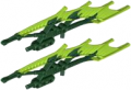 Set Jungle Shield in Blade Form