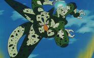 Cell z przyszłości Trunksa kontra Trunks z przyszłości (31)