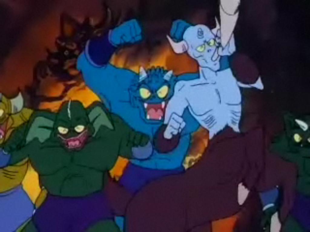 Demony - podwładni Shuli
