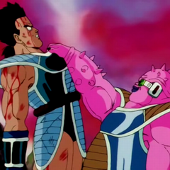 Dodoria zabija Tome z teamu Bardocka