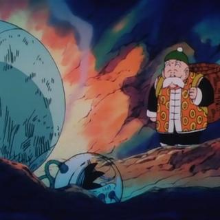 Son Gohan znajduje statek kosmiczny Gokū