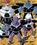 Specjalny Oddział Ginyu (kolorowana manga)