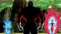 Vegeta i Goku vs Jiren
