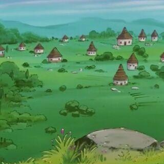 Wieś Lēny