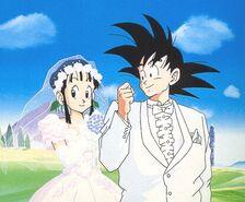 Chichi goku married2