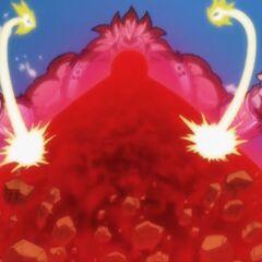 Wraz z Vegetą atakują Cumbera