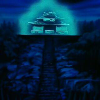 Ruiny Szkoły Mutaito po oblężeniu demonów Piccolo Daimaō (2)