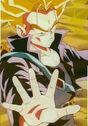 Trunks z nieznanej przyszłości zabija Colda Daiō z przyszłości Cella (3) (DBZ, odc. 143