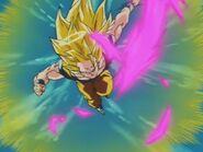Goku SSJ Three (18) Odbicie fioletowej Kamehame-Hy