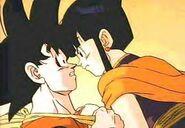 Goku i Chichi w 3. filmie DBZ