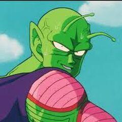 Piccolo podczas walk z Nappą i Vegetą