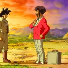 Przekazuje Goku i Gotenowi 100 000 000 <a href=