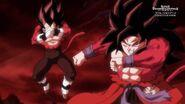 Son Goku; Xeno i Vegeta; Xeno (2) (SDBH, odc. 006)
