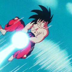 Gokū Kamehame-Ha na TB#23 w walce z Piccolo (1)
