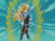 Goku przemiana w SSJ Three (2)