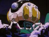 Statek kosmiczny w kształcie ośmiornicy