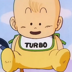 Uśmiechnięty Turbo