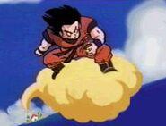 Dorosły Goku na Kinto