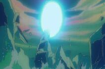 Gokū wchłania Genki-Damę (1) (DBZ, film 7)