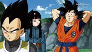 Vegeta, Goku i Mai szaukają Trunks (SDBH, odc. 002)