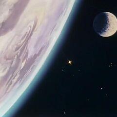 Hachchihyakku opuszcza atmosferę planety Tsuful