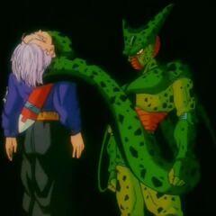 Cell zabija Trunksa (4)