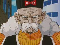 Doktor Gero - twarz (DBZ, odcinek 127)