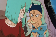 Baby Trunks and Bulma