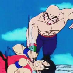 Pojedynek Tena z Yamchą na Tenka-ichi Budōkai 21 (2)