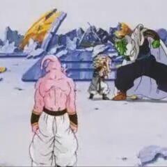 Po zniszczeniu drzwi przez Piccolo (2)