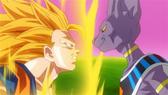 SSJ3 Goku vs. Beerus