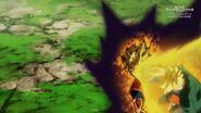 Trunks SSJ kontra Goku (SDBH, odc. 002)