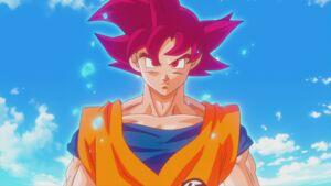 Son Gokū Super Saiyanin God (02)