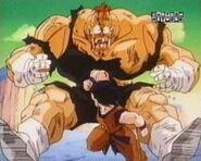 Goku łokciuje Recooma