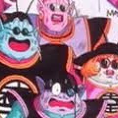 Czterech z pięciu Królów Światów