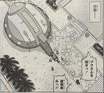 Mels i przyboczni transportują Majin Bū na statek (DBS, rozdział 42)