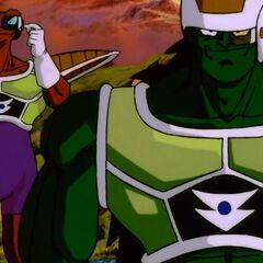 Dōre i Neiz mierzą poziom mocy bojowej Gokū