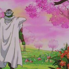 Piccolo niszczy Raj, aby zostać zesłanym do Piekła