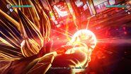Vegeta Jump Force Final Flash skupiona energia
