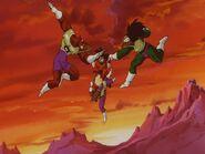 Oddział vs Goku.
