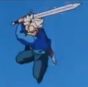 Future Trunks Sword