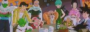 Tenshinhan na przyjęciu u Bulmy (DBZ288) (7)
