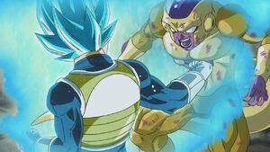 Vegeta SSJG2 vs Freezer