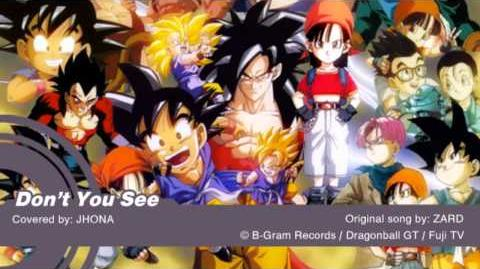 (BEIBI) Don't You See by ZARD DragonballGT