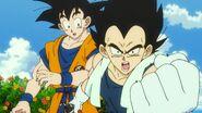 Vegeta i Son Goku (DBS, film 001)