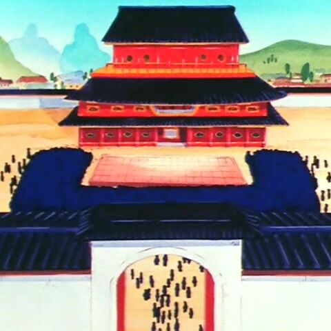 Pałac Króla Wontona i arena <a class=
