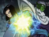 Super Dragon Ball Heroes, odcinek 013: Super Hearts dołącza do bitwy! Walka wstrząsająca całym światem!