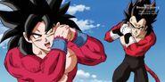 Son Goku; Xeno (5) (SDBH, odc. 005)