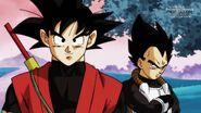 Son Goku; Xeno i Vegeta; Xeno (1) (SDBH, odc. 007)
