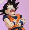 Goku śmieje się z żartu Kaio - DB Kai